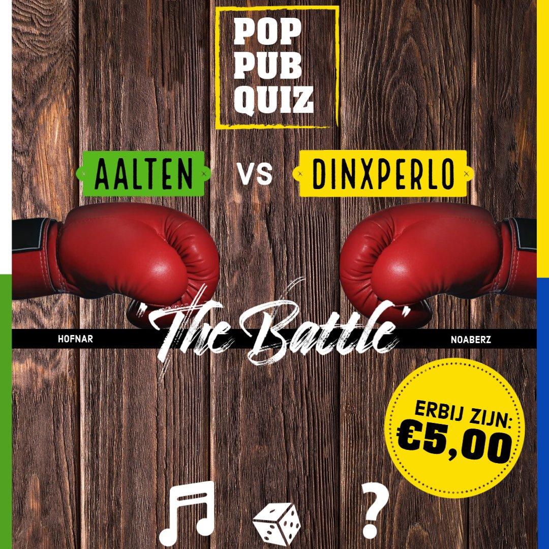 Dinxperlo VS Aalten Pop-Pub Quiz 1