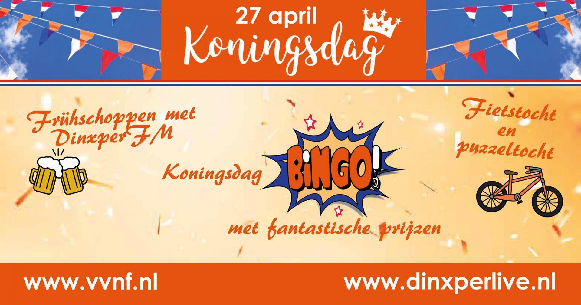 VVNF Koningsdag bingo! 1