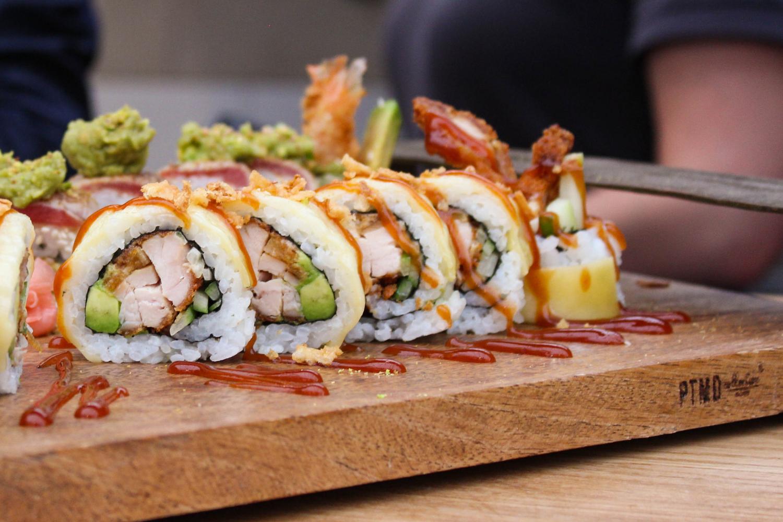 Sushi proeverij! zaterdag 1